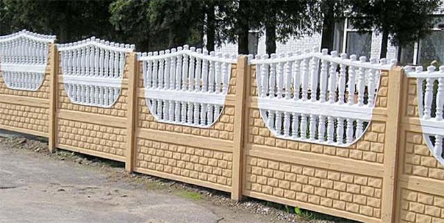 欧式混凝土围墙