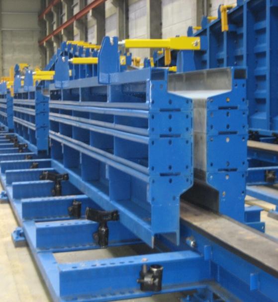 Купити Універсальні стенди PAOLO NANFITO для виготовлення елементів збірного залізо-бетонного каркаса методом в'язання арматури