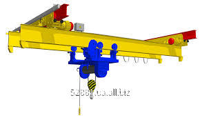 Buy Crane beam of basic 0,5-10,0 tons, suspended, production of cranes