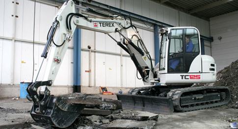 Среднеразмерные экскаваторы на гусеничном ходу Terex серии ТС