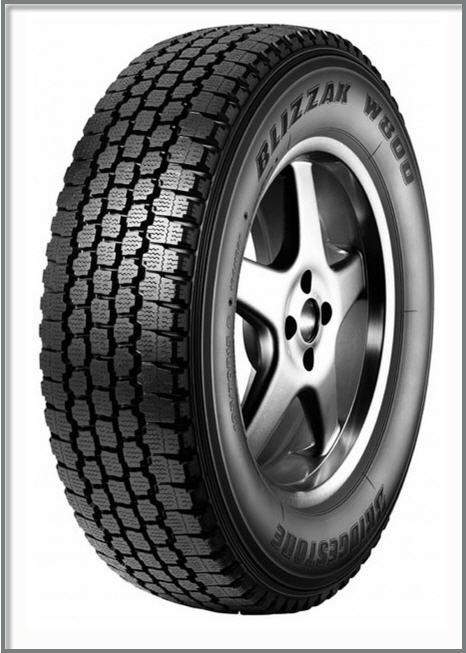 Зимние шины резина BRIDGESTONE BLIZZAK W800 175/75 R14C 99/98R