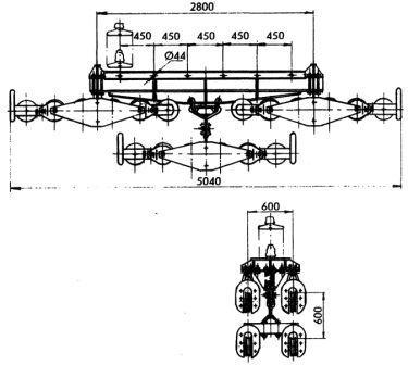 Зажим поддерживающий 4П6Р-90-3