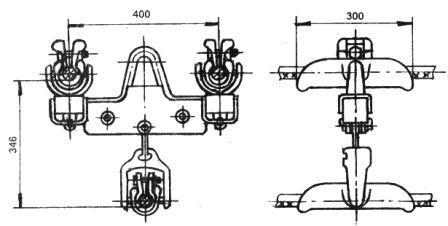 Зажим поддерживающий глухой ЗПГН-5-7