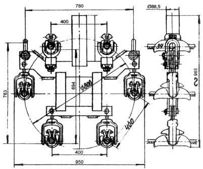 Зажим поддерживающий 6ПГН2-8-1