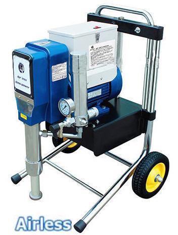 Мощный окрасочный агрегат высокого давления Airless 6880 огнезащита и шпатлевка
