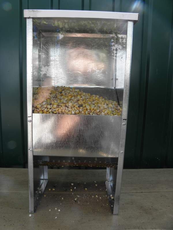 Buy Bunker feeding trough with a viewing window and a pyleulavlevlevatel