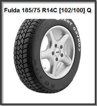 Купить шины зимние щипованные Fulda Conveo Trac 185/75 R14 102/100Q| зимние шины Fulda 185/75 R14C [102/100] Q купить в Украине под заказ