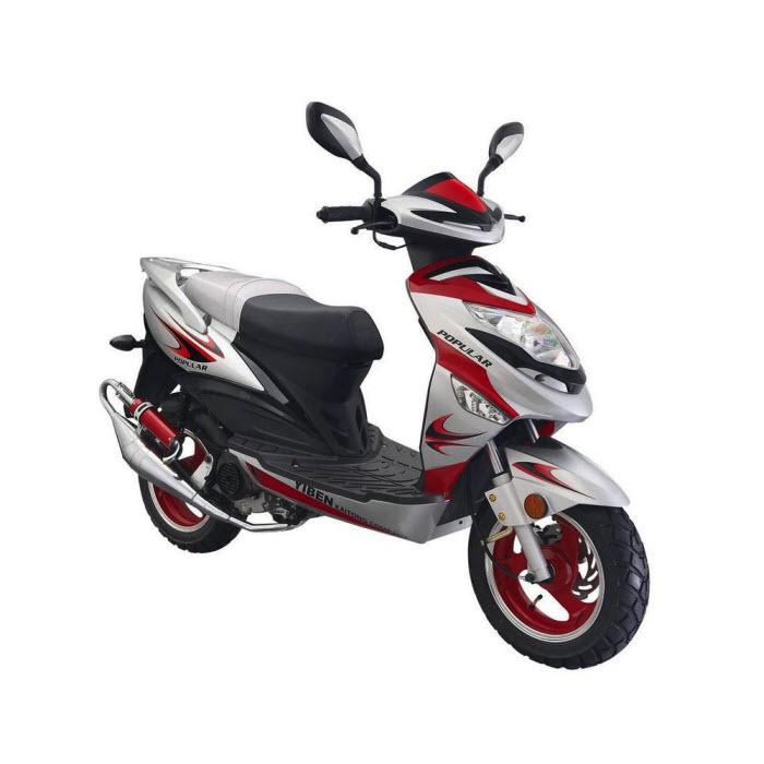 Купить Скутер YiBen (Ябен) YB50QT-9V