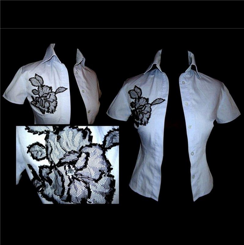 Купить Женская рубашка VDone, с вышивкой, размер 40