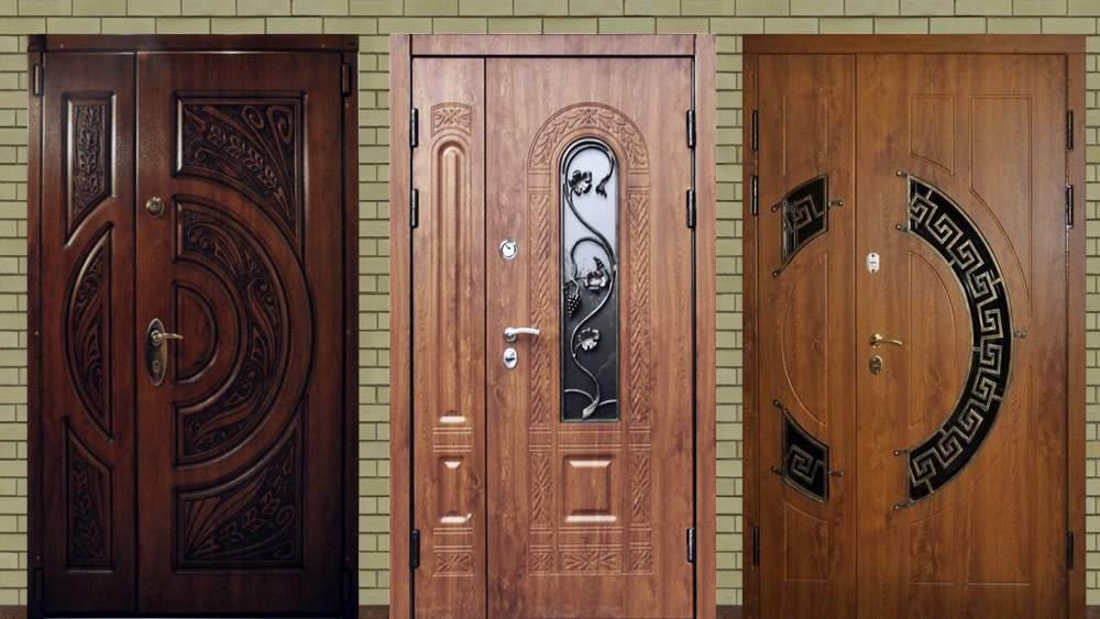 стоимость двухстворчатой входной металлической двери