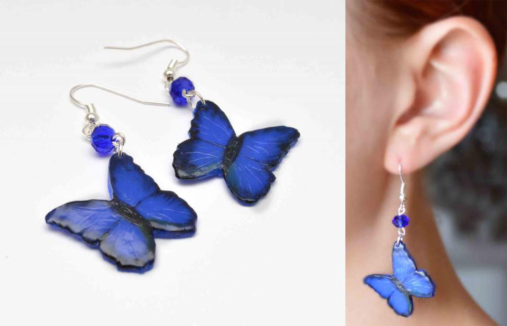 Buy Jewelry of polymeric clay, earring to buy earrings, jewelry of polymeric clay, author's jewelry to buy, Ukraine