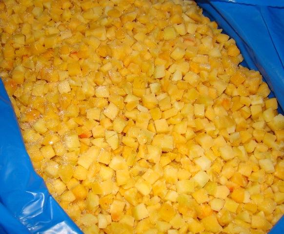 Персики замороженные