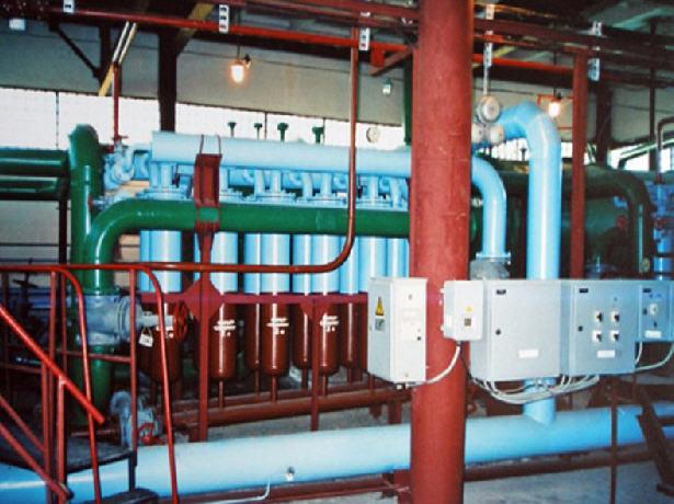 Малогабаритная блочная установка очистки подтоварной воды от механических примесей