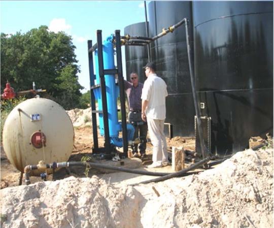 Станция глубокой очистки сточных вод