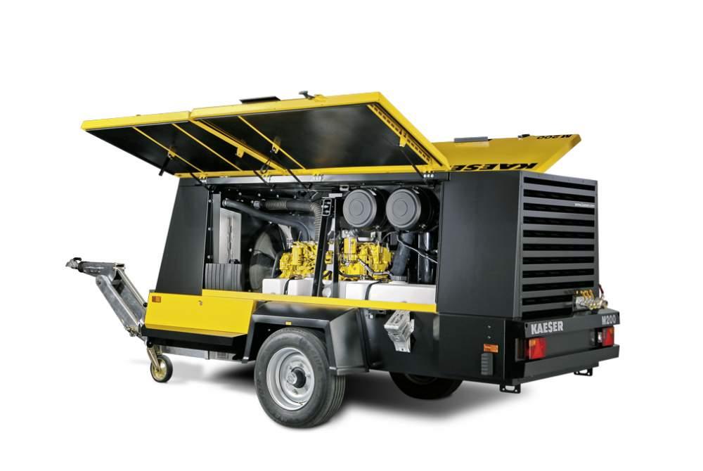 Продам дизельный передвижной компресор М 200 -18 м3/мин