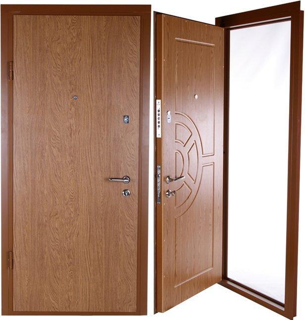 двери металлические входные стандартные 200 х 80