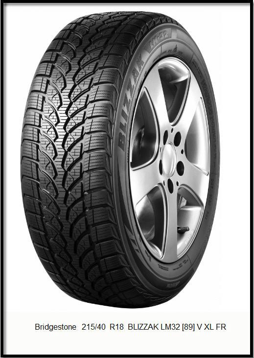 Шины Bridgestone215/40  R18  BLIZZAK LM32 [89] V XL FR|Автомобильные шины Bridgestone. Цены в Украине|Купить шины Bridgestone в Украине. Продажа резины|