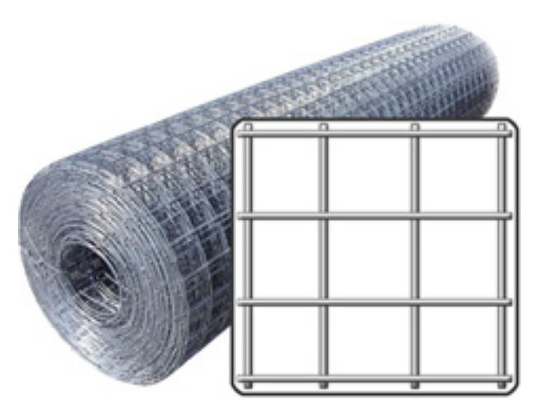 Сетка сварная 12х12х0,5 мм