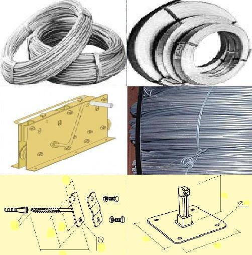 Проволока для заземления оцинк 6,0-8,0-10,0мм, полоса, крепеж - для громоотводов, сеток молниезащиты домов, промышленных объектов. Мотки по 50 кг. Произведена согласно стандарту PN-EN 50164-2 или PN-75/M-80051. Слой цинка: min 350 гр./кв.м.(Z350).