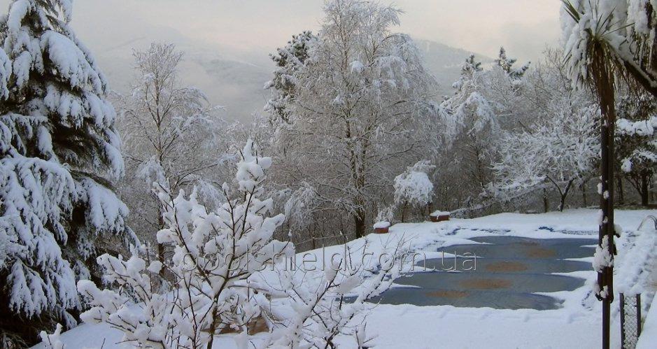 Зимове накриття на басейн Shield