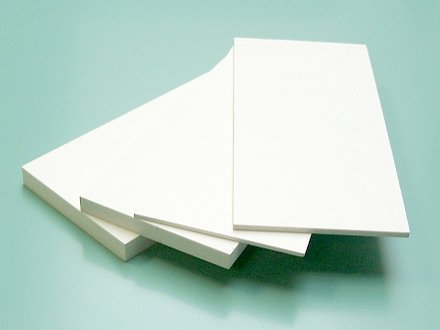 PVH plastic sheet vspen / is solid the 1-10th (it is white., prozr., tsvetn.)
