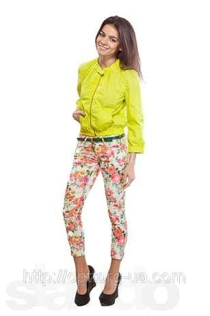 Купить Новый модный женские штаны в розочку красиво смотрится под пиджак