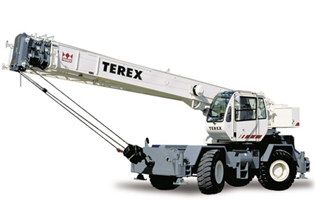 Кран для труднопроходимой местности Terex RT 230-1