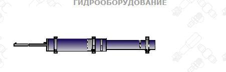 Мультипликатор, 2 датчика конечного положения