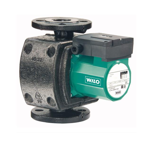 Насос циркуляционный для систем отопления Wilo-TOP-S