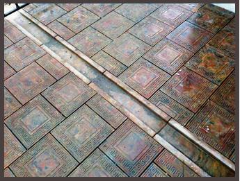 Тротуарная плитка из гранита. Готика.