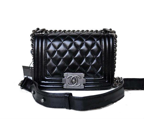 24cb26edec7b Bag stylish Chanel Chanel black Le Boy mini buy in Kiev