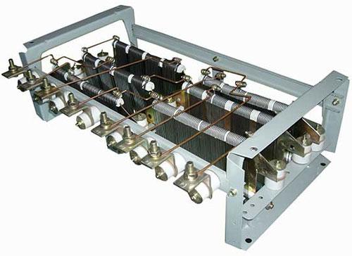 Блоки резисторов и щиты сопротивлений крановые
