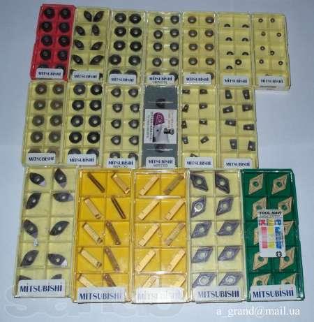 Купить Твердосплавные пластины Mitsubishi, Sandvik, Iscar, Seco, TaeguTec, Korloy