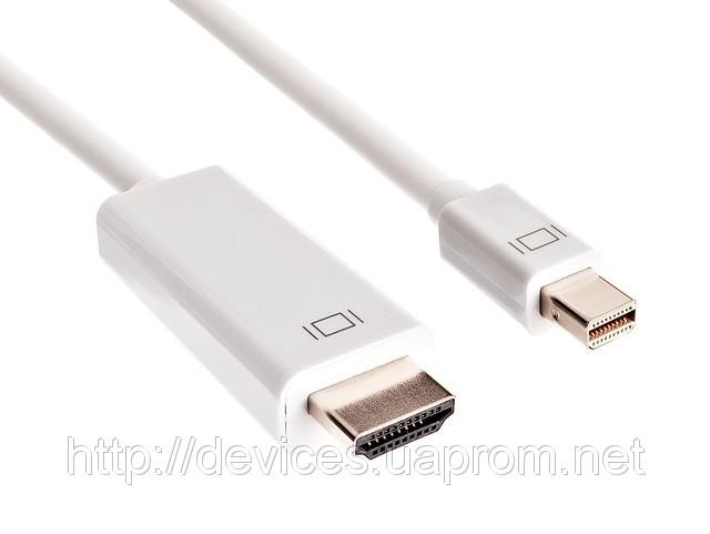 Купить Кабель Apple mini DisplayPort (Thunderbolt) - HDMI белый (1,8 м)