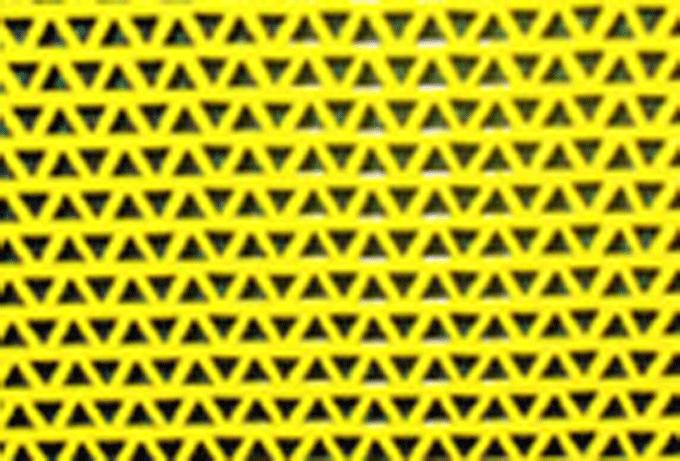 Купить Перфорированный треугольный лист:сторона равностороннего треугольника в мм: 3,5; 5,5., Размер листа 1000х2000 мм, пр-во Днепропетровский завод Продмаш, Украина