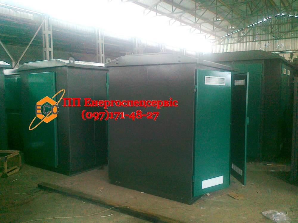 Купить Трансформаторная подстанция (киосковая) КТП-63/10(6)/0,4 с воздушным вводом