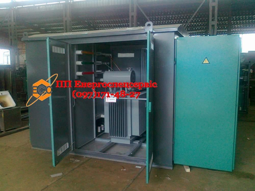 Купить Трансформаторная подстанция (киосковая) КТП-100/10(6)/0,4 с воздушным вводом