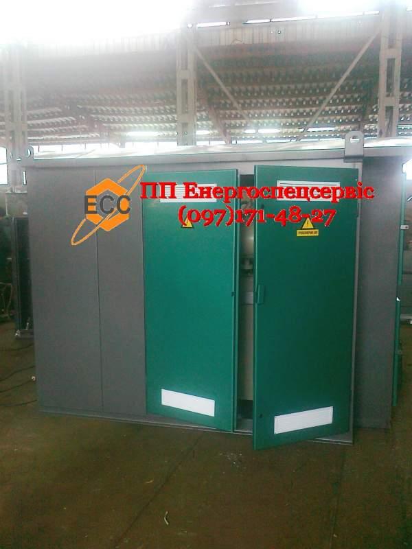 Купить Трансформаторная подстанция (киосковая) КТП-400/10(6)/0,4 с воздушным вводом