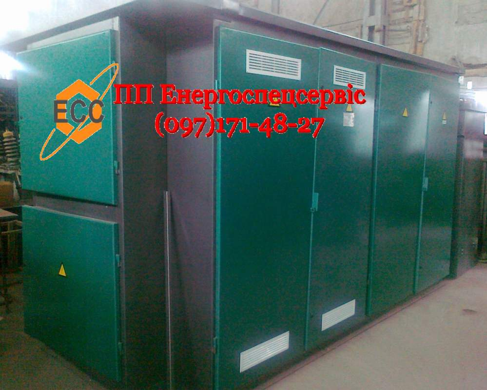 Complete transformer substation KTP: production, installation
