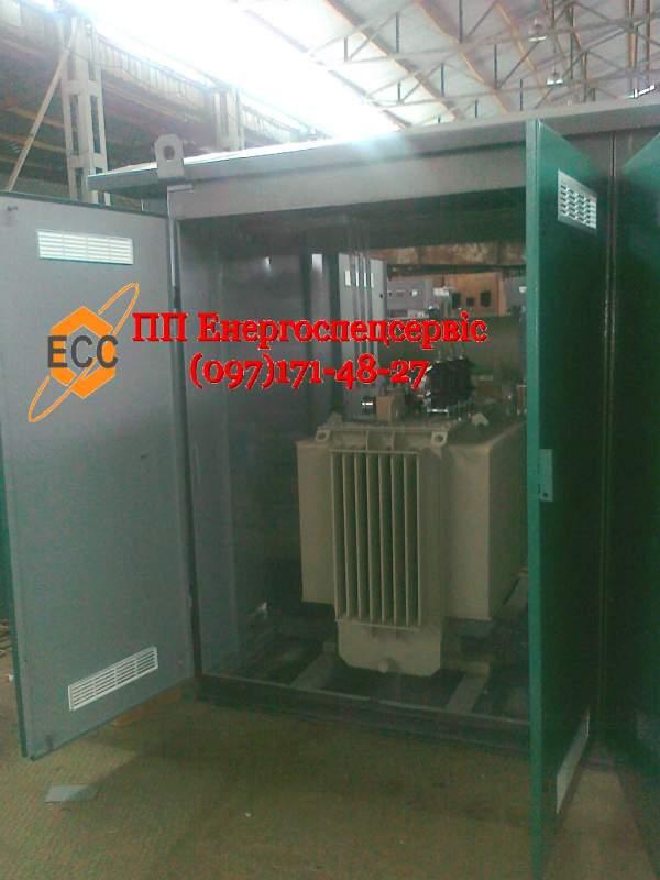Купить Трансформаторная подстанция (киосковая) КТП-63/10(6)/0,4 с кабельным вводом
