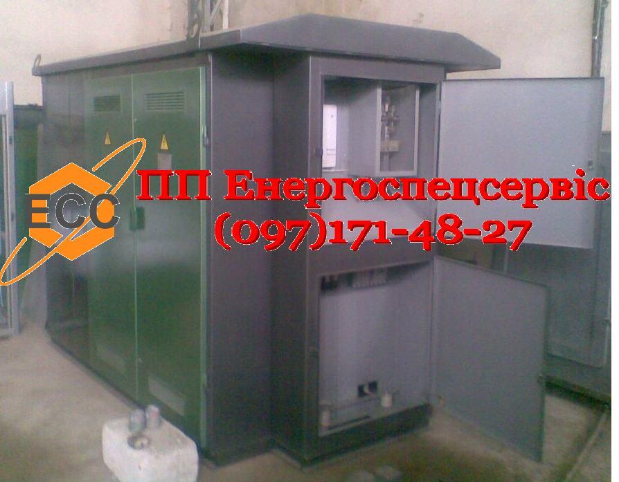 Купить Трансформаторная подстанция (киосковая) КТП-100/10(6)/0,4 с кабельным вводом