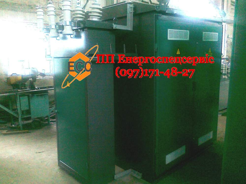 Купить Трансформаторная подстанция (киосковая) КТП-160/10(6)/0,4 с кабельным вводом