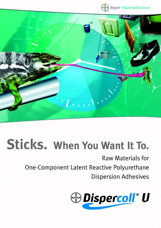 DISPERCOLL - полиуретановые и хлорбутадиеновые дисперсии для производства клеев и мастик