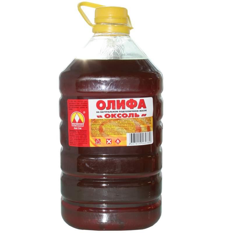 Олифа из отработанного масла