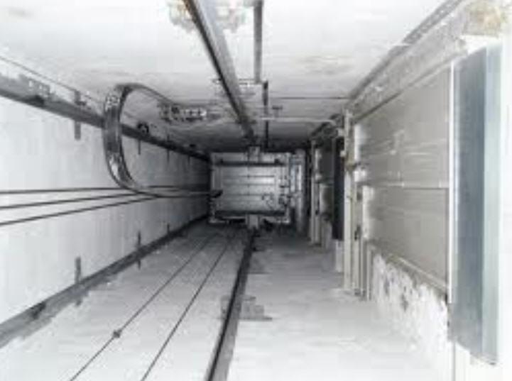 Шахты лифтов,опоры
