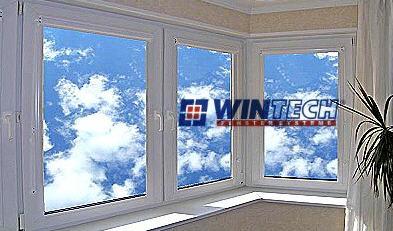 Окна металлопластиковые, окна из ПВХ WINTECH