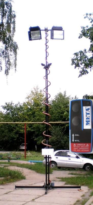 Мачта телескопическая для видеокамер МТВ.