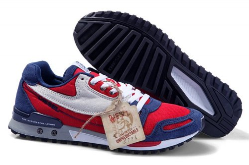 Кроссовки, Diesel Sneakers (red/blue/white)