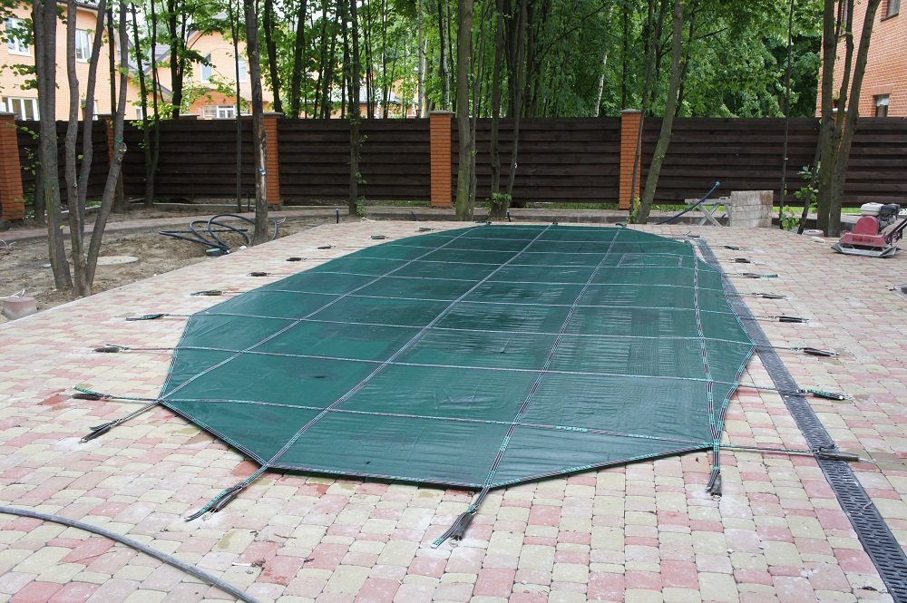 Shield coverings for swimming pools