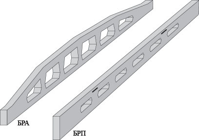 Overlapping beams for the house reinforced concrete, concrete goods, ZhBK